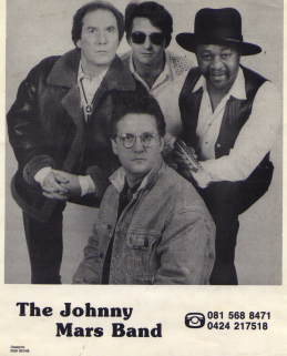 Johnny Mars promo Ray Fenwick, TP, Johnny, Dave Storey