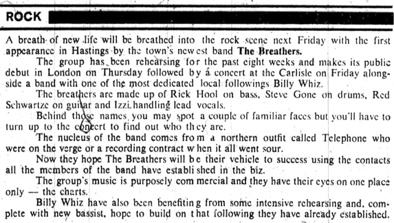 18. MARCH 1980 THE BREATHERS.