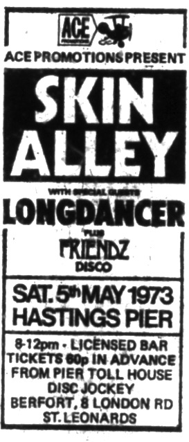 SKIN ALEEY 5TH MAY 1973