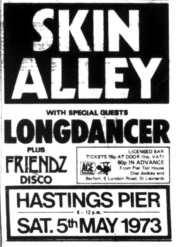 skin alley 5th may 1973