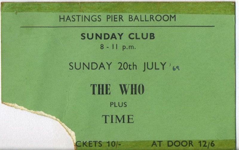 The Who 20.07.69 PETE FISHER