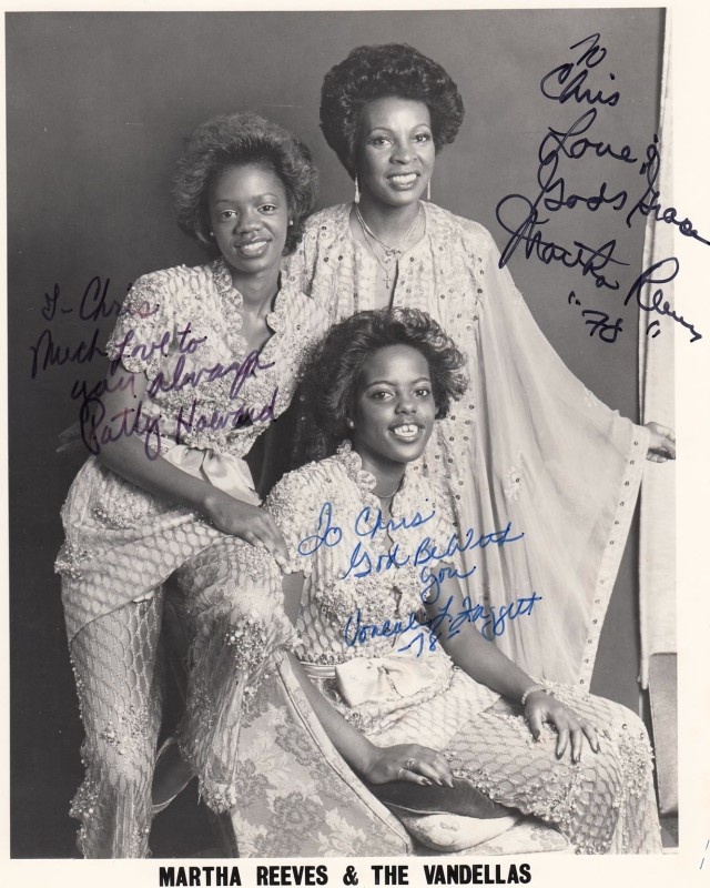 Martha and the Vandellas 1970 Photo