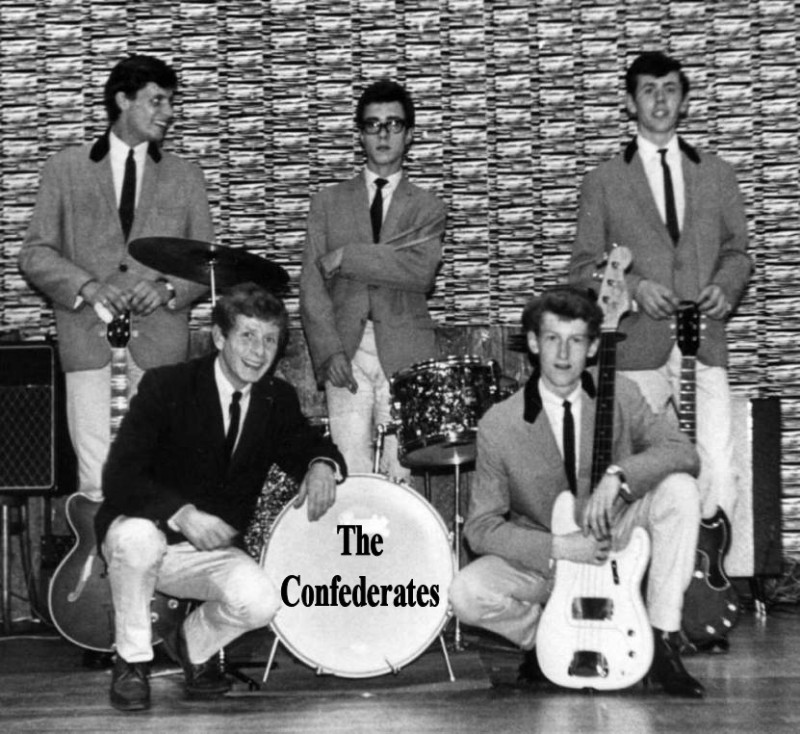 1964 Confederates at Starlight Rooms Maidstone