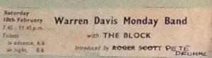 WARREN-DAVIS cuttings