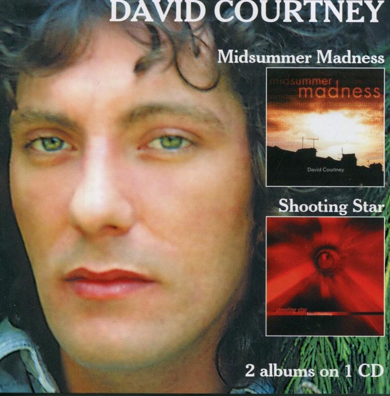 Midsummer Madness/Shooting Star (2 albums on 1 Cd) DAVID COURTNEY - david-courtney