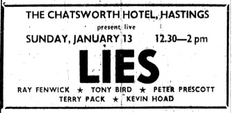 1. JAN 13th 1980 - LIES