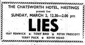 16. 2nd march 1980 lies