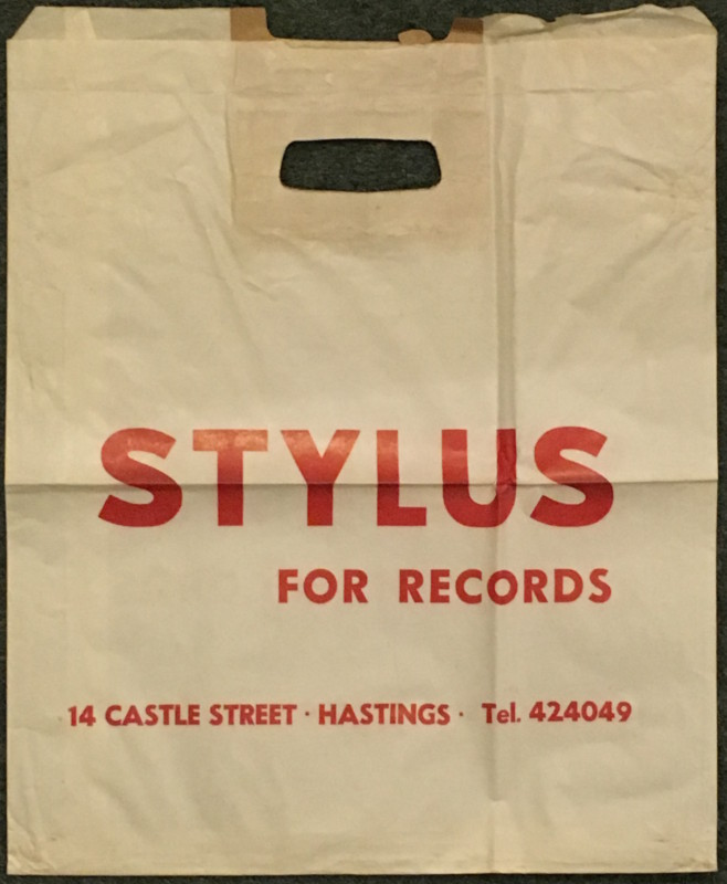 stylus record bag