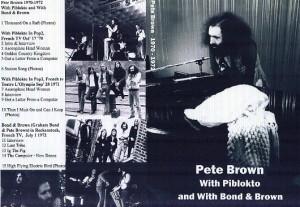 pete brown dvd