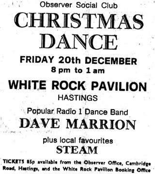 dave marrion - 20th dec 1974