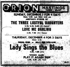 lady sings 1974