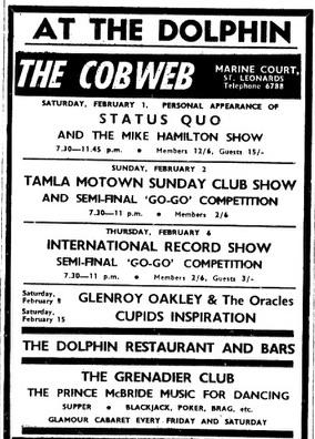 1st Feb 1969 - status quo.