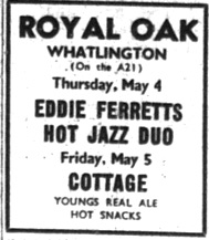 4th may 1978 eddie ferrett