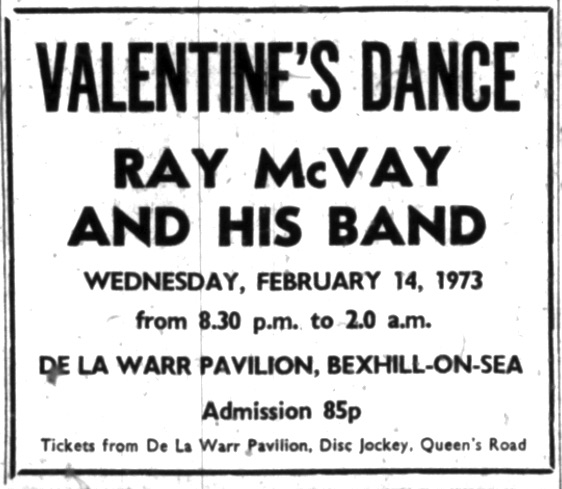 ray mcvay 14th feb 1973