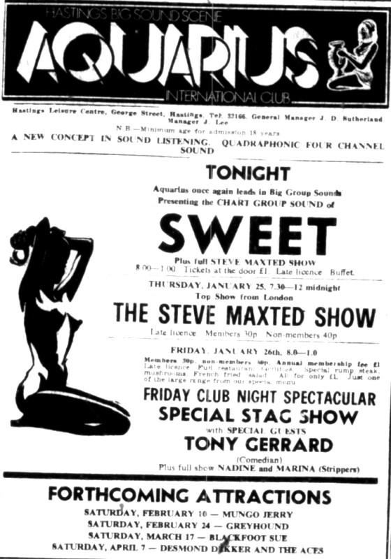 sweet jan 1973