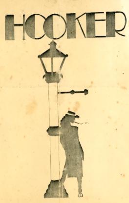 hooker poster