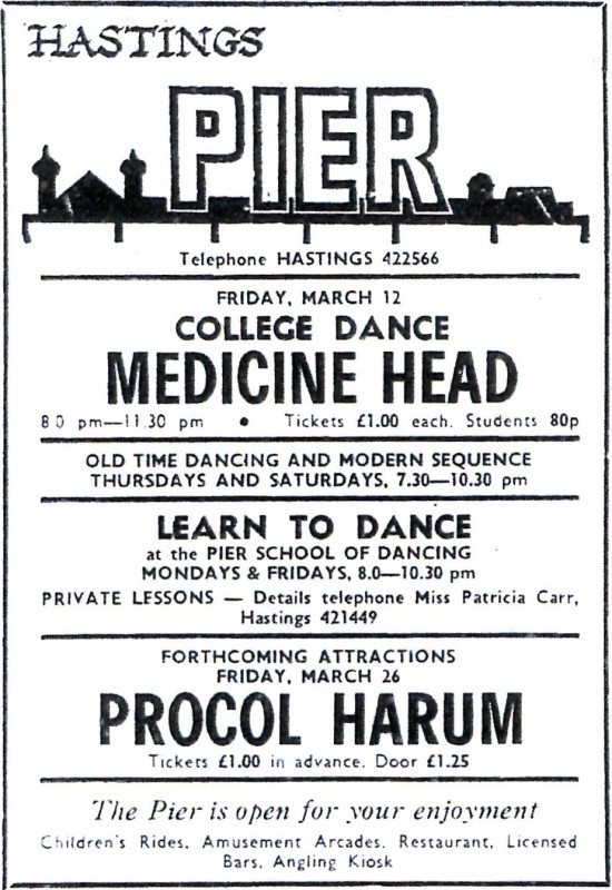medicine head 12th march 1976