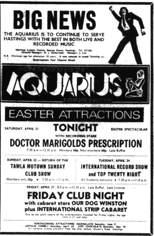 21st april 1973 doctor marigolds