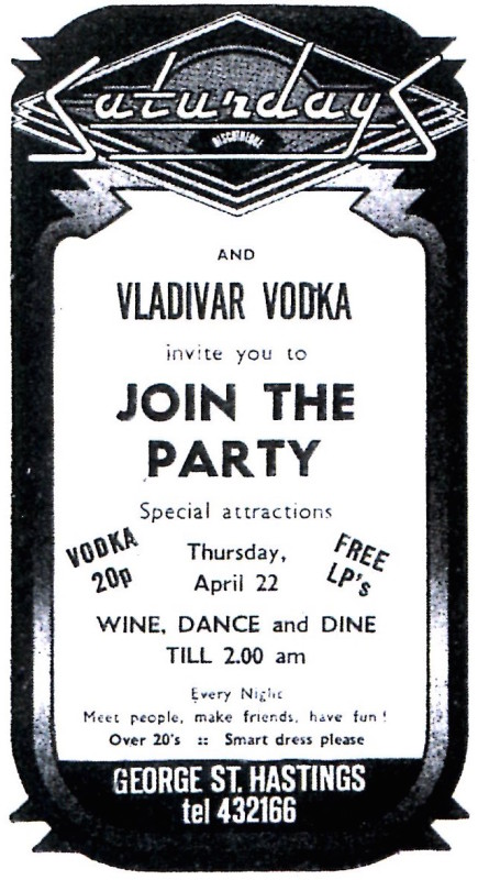 22ND APRIL 1976 VODKA PARTY