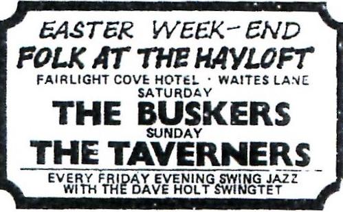 13th April buskers 1974