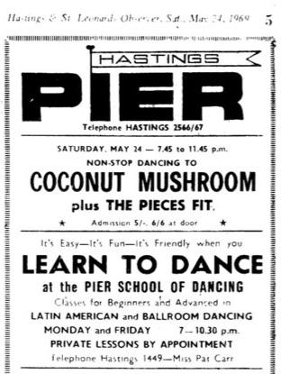 24th May 1969 - Coconut Mushroom