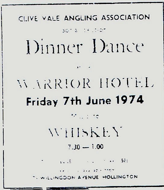 whiskey 7th june 1974
