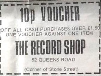 10p record shop