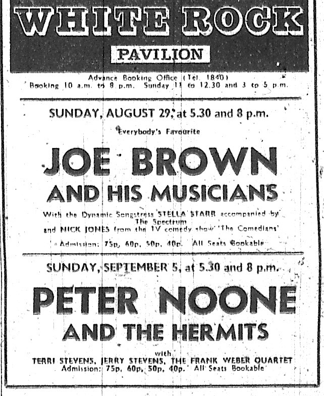 joe brown 29th aug 1971