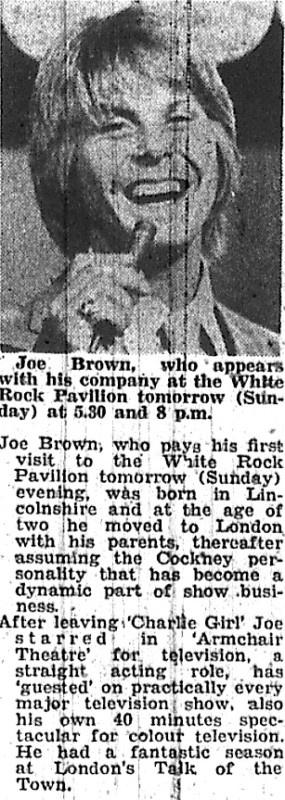 joe brown write up