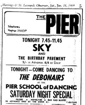 18th Jan 1969 - Sky..
