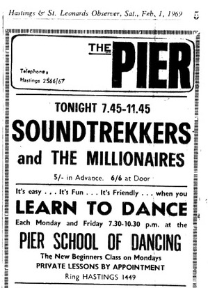 1st Feb 1969 - Soundtrekkers.