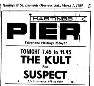1st march 1969 - the kult