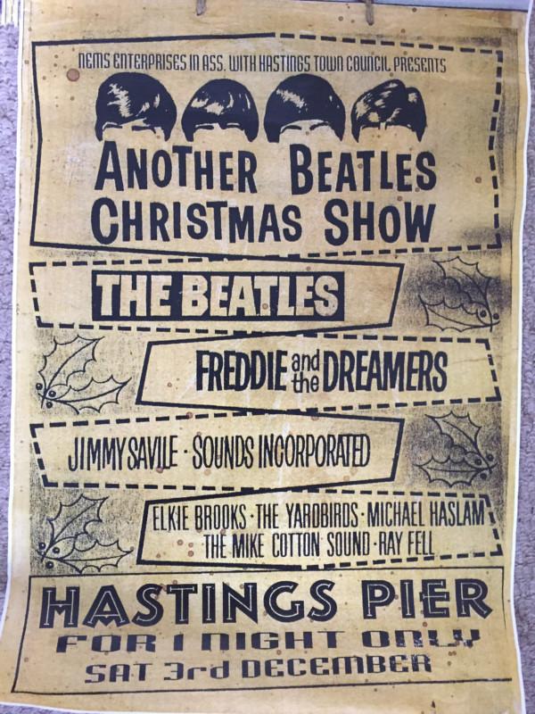 beatles hastings pier 1966