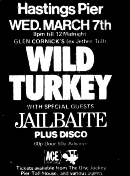 march 7th 1973 wild turkey.