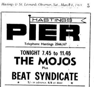 march 8th 1969 the mojos