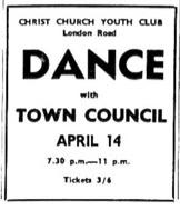 14th april 1969 - town council