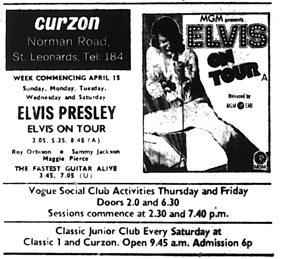 15th april 1973 elvis on tour