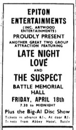 18th april 1969 - late night love