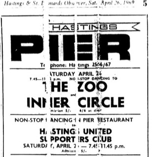 26th April 1969 - The Zoo