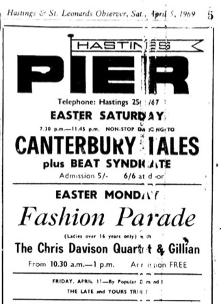 5th April 1969 - Canterbury Tales