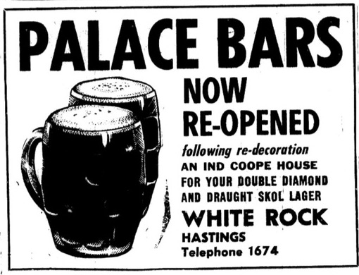 10th May 1969 - palace bars