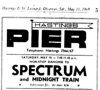 10th May 1969 - spectrum