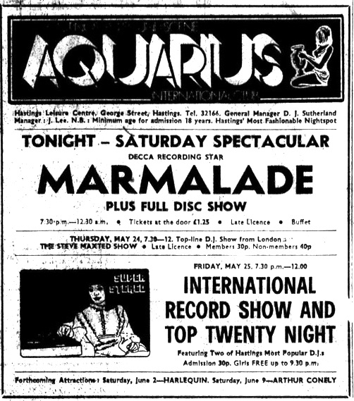19th may 1973 - marmalade