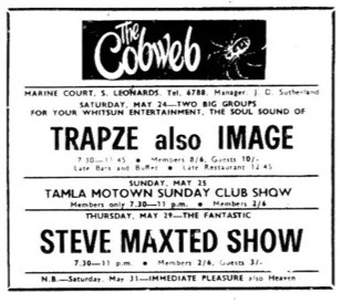 24th May 1969 Trapze