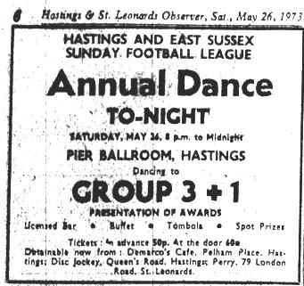 26th may 1973 - group 3+1