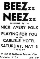 6th May 1978 - Beez Neez