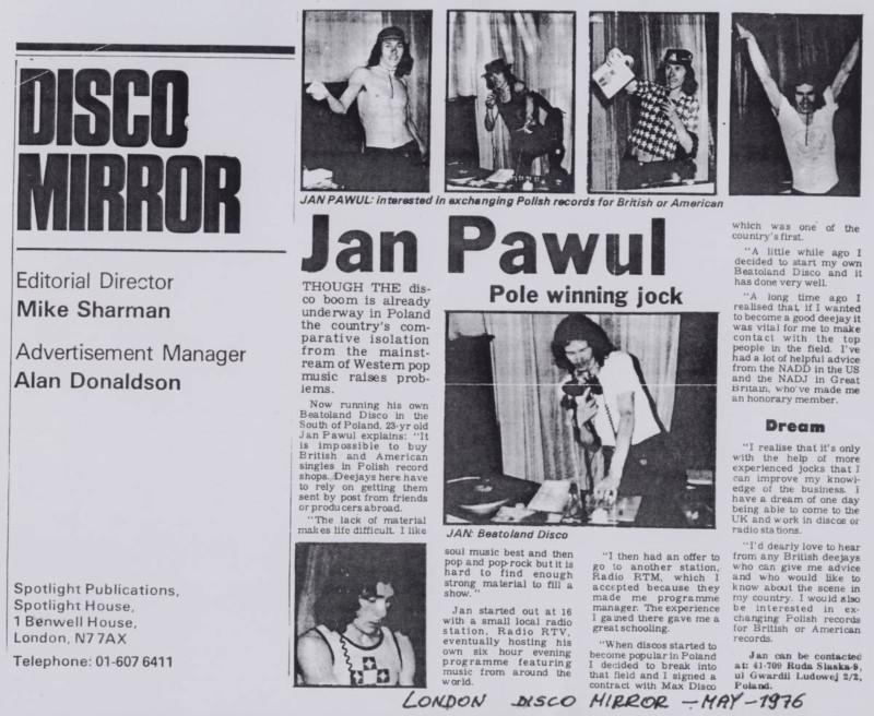 Kopia DISCO MIRROR - 1976