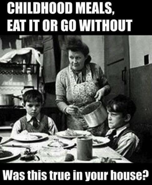 childhood meals