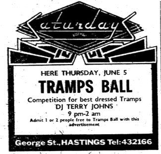 june 5th 1980 tramps ball